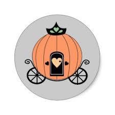 Pumpkin Carriage Pumpkin Carriage Stickers Zazzle