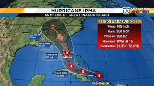 Weather Map Miami by South Florida Is Under A Hurricane Warning