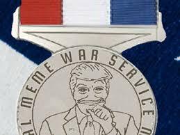 Medal Meme - global meme war service medal indiegogo
