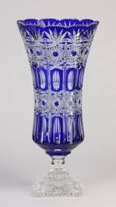 Dark Blue Glass Vase Best 25 Crystal Vase Ideas On Pinterest Waterford Crystal