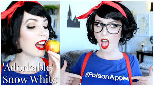 Halloween Snow White Makeup by Snow White U0027adorkable Edition U0027 Makeup Perfect For Very Pale Skin