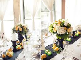Reception Centerpieces Romantic Wedding Reception Decor Fruit Centerpieces