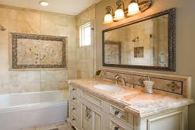 Brown And White Bathroom by Cost Of Bathroom Remodeling