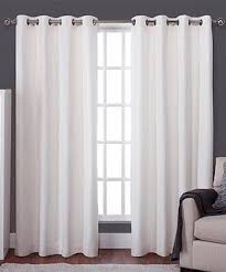 White Silk Curtains Beautiful Blackout Curtains Zulily