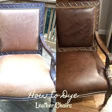 Can You Dye Leather Sofas How To Dye Leather Chairs Southern Hospitality
