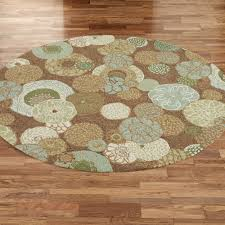 Brown Round Rugs by Perfect Round Indoor Outdoor Rugs Design Remodeling U0026 Decorating