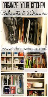 Organize Kitchen Cabinets Rosewood Bright White Yardley Door Best Way To Organize Kitchen