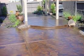 Patio Concrete Designs Creative Of Concrete Patio Paint Ideas Painted Cement Floors Pics