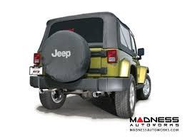 jeep wrangler performance exhaust jeep jeep wrangler jk 2 door performance exhaust by borla