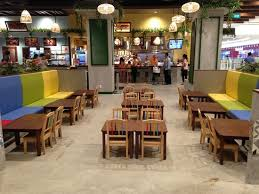 Kids Eating Table Little Kids Eating Area Picture Of Aeon Mall Tan Phu Celadon