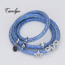 Blue Leopard Print by Compare Prices On Leopard Wrap Bracelet Online Shopping Buy Low