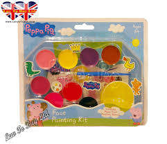 original peppa pig face painting kit colours
