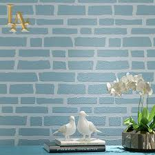 blue brick wallpaper blue bricks by paul white wallpaper red
