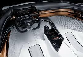 peugeot onyx interior peugeot fractal concept car features a wild 3d printed interior