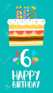 Six Flags Birthday Happy Sixth Birthday Images U0026 Stock Pictures Royalty Free Happy