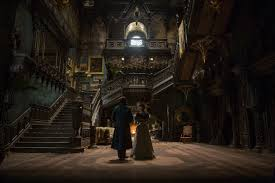 crimson peak pictures show off the stunning allerdale hall collider