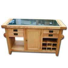oak kitchen island units wood furniture solid oak rustic granite top kitchen island unit in