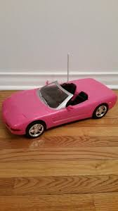 barbie corvette remote control pink rc car for sale classifieds