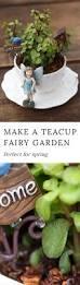 Fairy Garden Ideas For Kids by How To Make A Teacup Fairy Garden