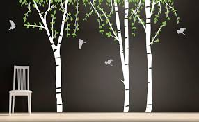 tree wall decal for interior decoration wedgelog design image of tree decals for walls