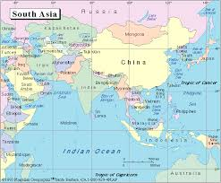 asia political map map of south asia political major tourist attractions maps