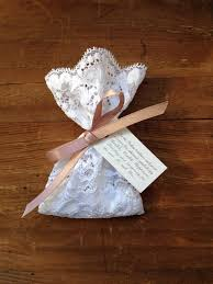 lace favor bags custom order 100 lace favor bags with satin ribbons italian
