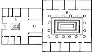 roman floor plan the classics pages antony kamm s the romans 6 4 domestic