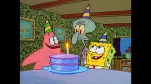 spongebob squarepants party time book youtube