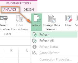how do you refresh a pivot table excel pivot table tutorial how to make and use pivottables in excel