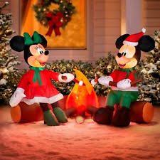 disney minnie mouse happy thanksgiving yard decor 70444