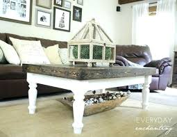 square cottage coffee table cottage coffee table white fieldofscreams
