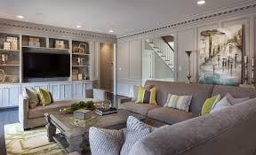 living room design grey