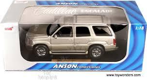 1 18 cadillac escalade diecast collector model cars anson cadillac escalade 2002 1 18