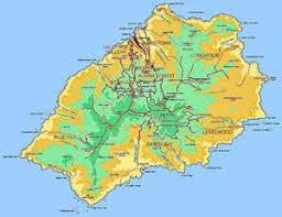 ascension islands map helena island info all about st helena in the south