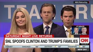 saturday night live thanksgiving skit snl u0027 spoofs trump children in u0027family feud u0027 sketch cnn video