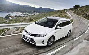 toyota car hybrid toyota launches production of auris touring sports hybrid