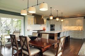 triple pendant light dining room modern with beige wall black