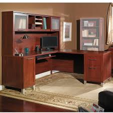 overstock l shaped desk somerset 71w l shaped desk with hutch free shipping on orders