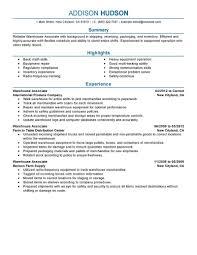 Forklift Operator Sample Resume by Cover Letter Sample Resume For Warehouse Manager Sample Resume For