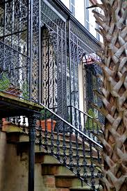 ornamental ironwork of architecture in