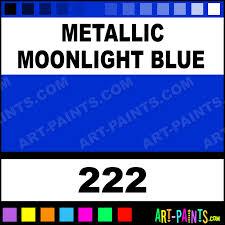 metallic moonlight blue modelling enamel paints 222 metallic