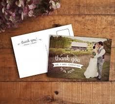 wedding thank you postcards thank you card wedding thank you wedding thank you card thank
