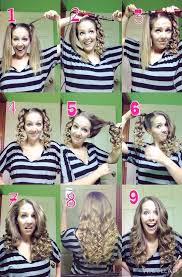 best tool for curling mid length hfine hair quick and easy curls using a curling wand curl each pigtail with
