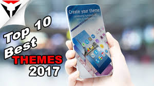theme maker java mobile9 top 10 best themes of android 2017 youtube