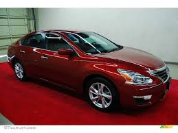 red nissan altima 2013 cayenne red nissan altima 2 5 sv 78076283 gtcarlot com