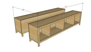 How To Build A Platform Bed With Plywood by Ana White Hailey Storage Bed Twin Diy Projects