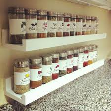 Narrow Spice Cabinet Diy Spice Rack Easy Access Doesn U0027t Take Up Room In The Cupboards