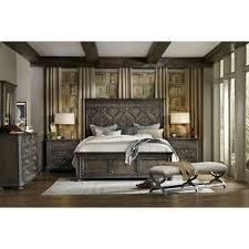 Hooker Furniture Vintage West King Bedroom Group Stoney Creek - Stoney creek bedroom set