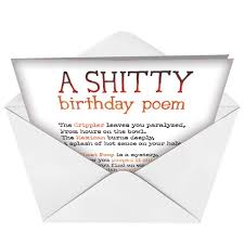 poems for birthday cards funny mypoems co