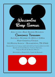 mickey mouse baby shower invitations free mickey mouse baby shower invitation templates mickey mouse ba